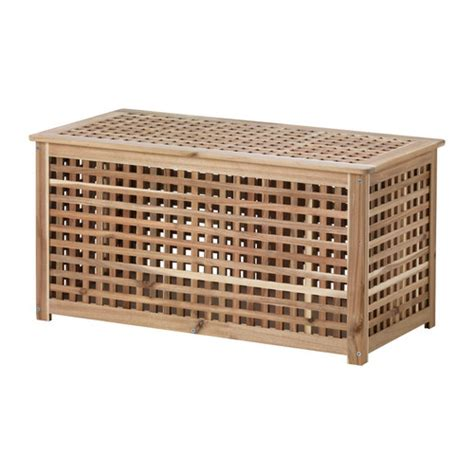 HOL Storage table Acacia 98x50 cm   IKEA