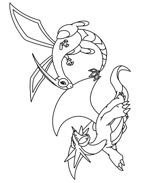 pokemon coloring pages flygon coloring page mega tyranitar 248 pokemon coloring pages