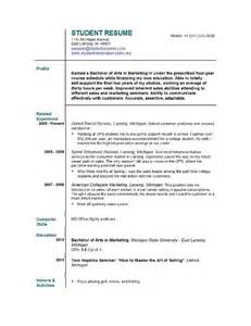 Really Resume Exles by Accounting Student Resume