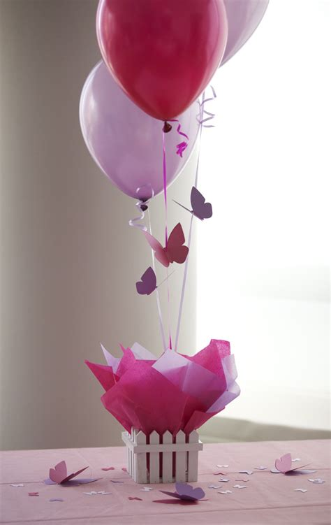 centerpiece decorations centerpieces balloon decorating favors ideas