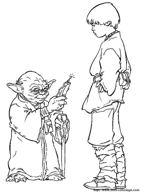 happy birthday star wars coloring pages coloriage de star wars dessin maitre yoda avec anakin