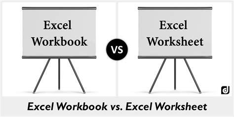 excel workbook vs worksheet difference between excel workbook and worksheet
