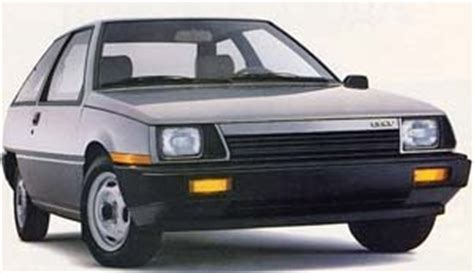 mitsubishi fiore hatchback 1985 dodge colt overview cargurus