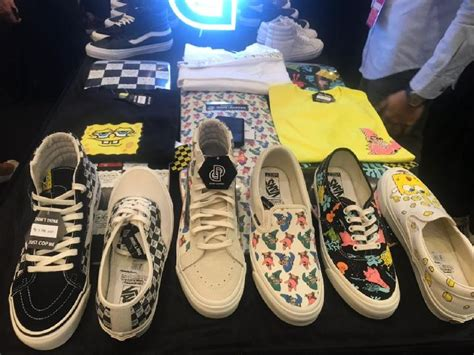 Sepatu Vans Spongebob jakarta sneaker day vans x spongebob squarepants banjir