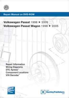how to download repair manuals 1998 volkswagen passat engine control vw passat 1998 2005 repair manual cd rom at evwparts