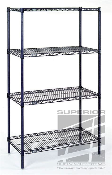 nexel stainless steel wire shelving