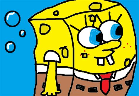 free spongebob painting ms paint spongebob by durper1324 on deviantart