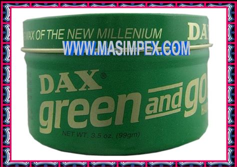 Pomade Dax Green And Gold dax green and gold hair wax 99g grocery store