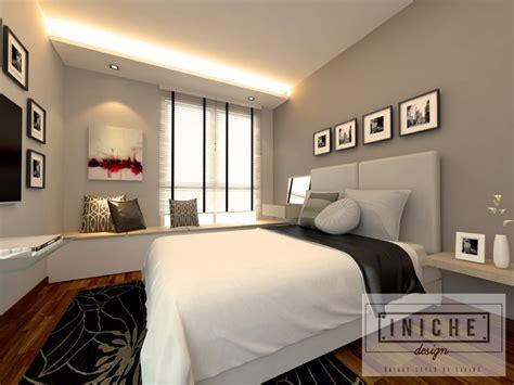 Bedroom Wallpaper Singapore Iniche Designs Interior 5 Room Hdb Home Services Singapore