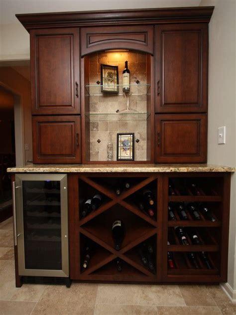 wine fridge  counter design pictures remodel decor