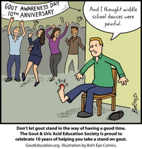 Gout Awareness Day Gout Education Society