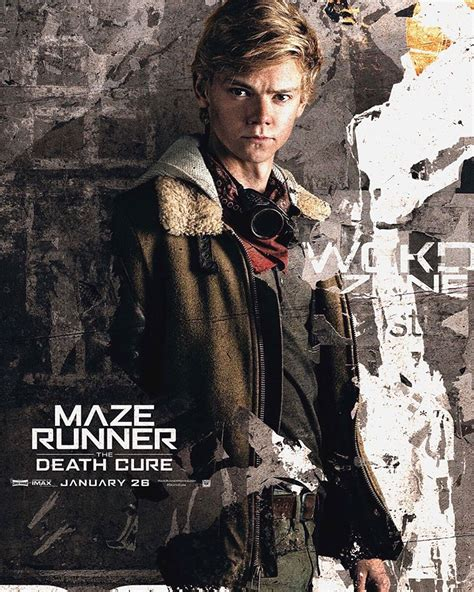 film maze runner tentang apa newt the death cure movie poster tmr pinterest