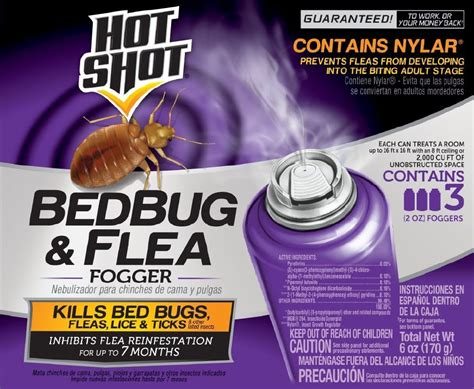 hot shot bed bug fogger does it work wash clothing after using a fogger bedbugs
