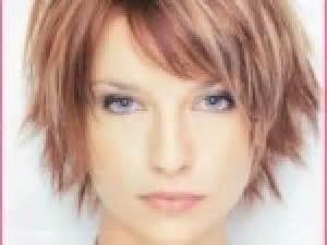 coupe courte femme pour rond par coiffure visage