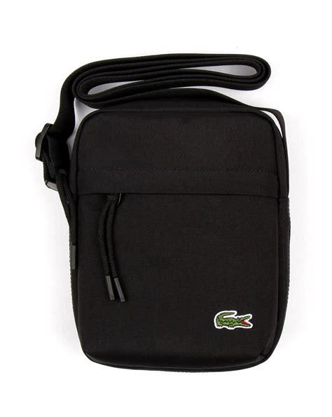 Lacoste Bag Vertical Motif lacoste vertical bag black s