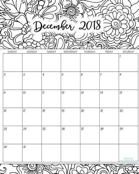 december  calendar   word excel printable template