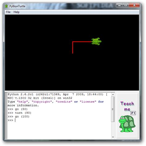 tutorial python turtle download pythonturtle 0 1 2009 8 2 1
