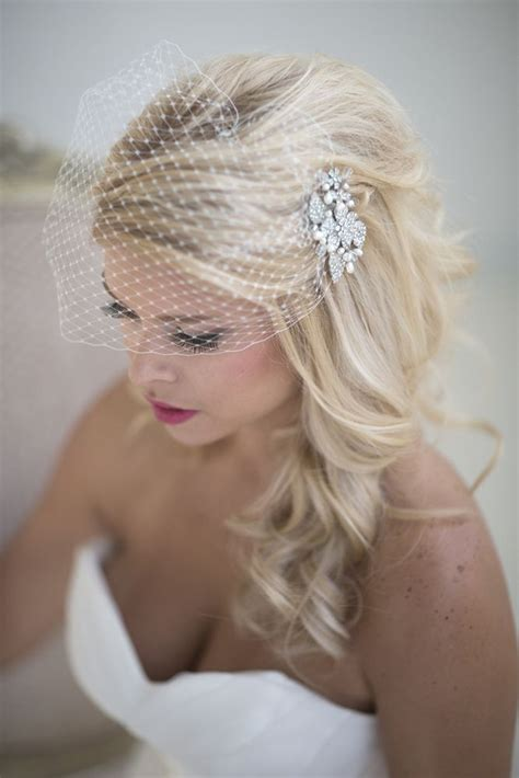 Wedding Hair For Birdcage Veil by Best 25 Birdcage Veils Ideas On Wedding