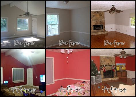 home makeover with behr paint for the home