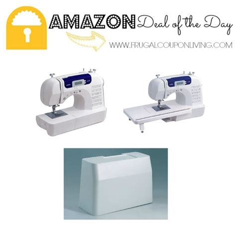 amazon brother cs6000i feature rich sewing machine amazon deal of the day 74 off brother cs6000i feature