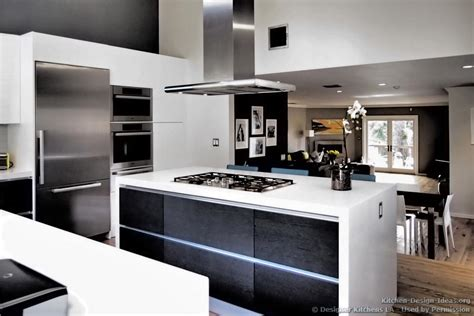modern black and white kitchen designs designer kitchens la pictures of kitchen remodels