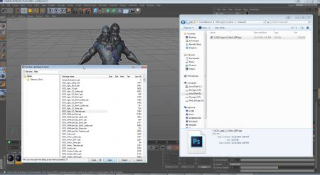 import psk to blender export 3d smite characters to blender and cinema 4d
