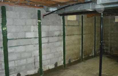 wall repair services bowed basement wall repair