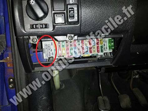 obd connector location  opel corsa