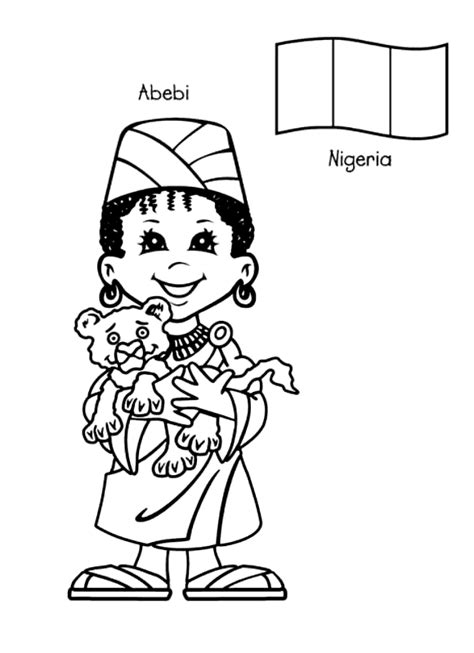Children Around The World Coloring Pages around the world coloring pages coloringpagesabc