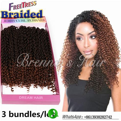 10inch deep wave synthetic braided style 10inch freetress water wave bohemian hair extensions reviews online shopping