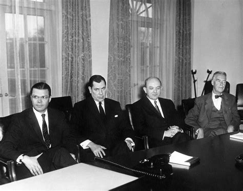 Dwight Eisenhower Cabinet Members by Ar6279 C President Elect F Kennedy S Designated