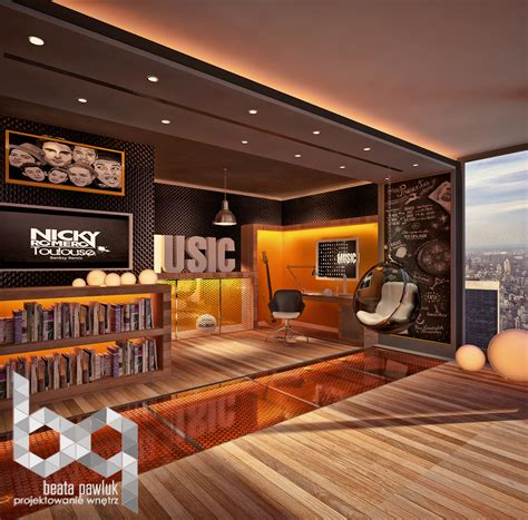 house music theme dark themed kids rooms