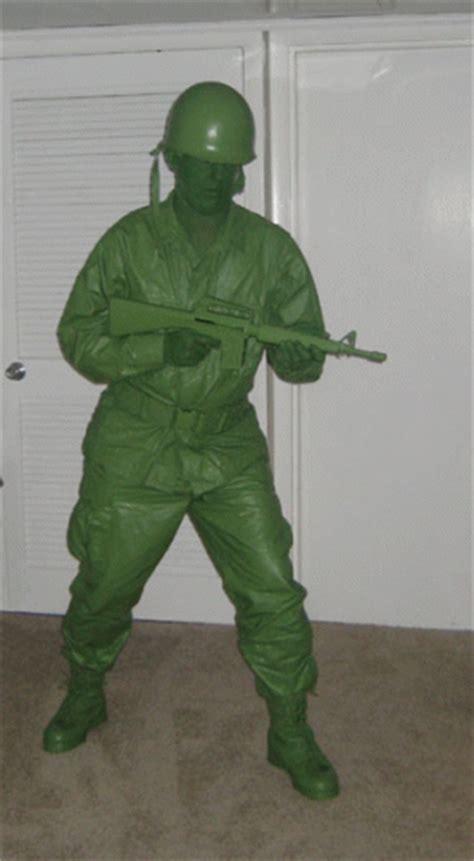 disfraz de soldado de plastico verde todo halloween