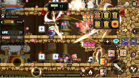 maplestory android maplestory m chega de surpresa em beta aberto no android mobile gamer tudo sobre jogos de