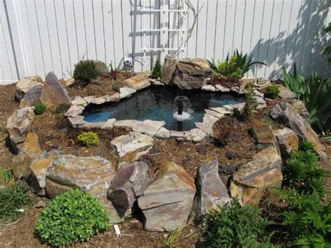 building a small backyard pond how to build a raised pond backyard gardening blog my