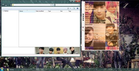 download themes kpop for windows 7 my kpop 7 b1a4 tried to walk windows 7 theme download