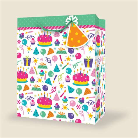 A Birthday And A Discount From Butler Bag by Wholesale Small Birthday Gift Bags