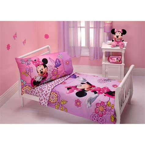 Minnie Bed Set Interior And Bedroom Minnie Mouse Bathroom Decor