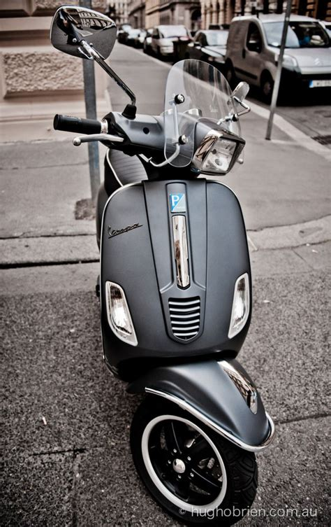 Zippo Custom Grey Vespa Black Matte i never really liked the square light ones but this is so