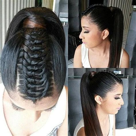 gator braid ponytail knotted braid hairstyles i love ponytails