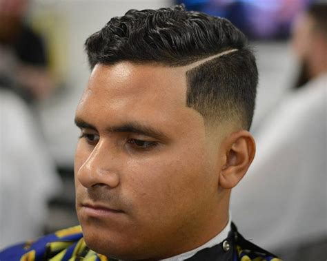 fatguyhaircuts com side part tapered wavy on top 3 world trends fashion