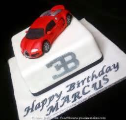Bugatti Birthday Cake Pauline Bakes The Cake Here Comes The Quot Bugatti Veyron