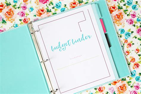 free printable binder planner 2016 the 2016 budget binder is here just a girl and her blog