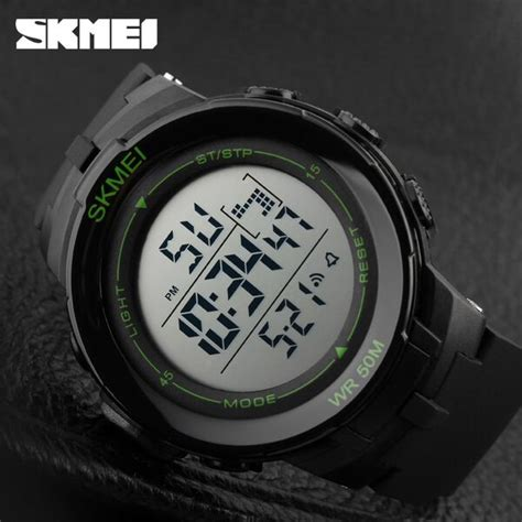 Digitec Original Dg 2091 Pria Black White skmei jam tangan digital pria dg1127 black white