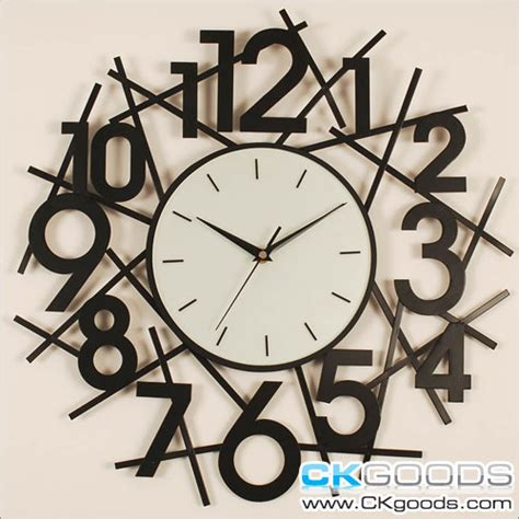 wall clock art fashion and art trend unique creative and stylish wall