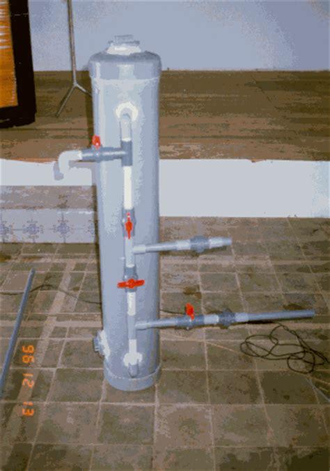 membuat filter air dengan pipa paralon pembuatan filter untuk menghilangkan zat besi dan mangan