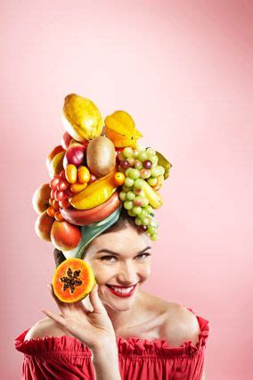 woman with fruit basket on head 17 best images about carmen miranda style on pinterest