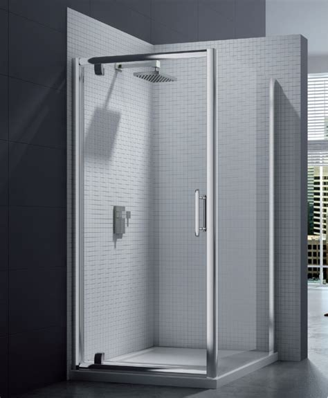 Merlyn 6 Series 8mm Clear Glass Pivot Shower Door 760 800mm Shower Door Pivot