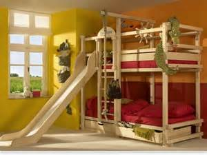 Wood Bunk Bed With Slide Bunk Mattress With Slidedesign And Style Homefurniture Org