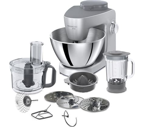 Buy KENWOOD Multione KHH321SI Stand Mixer   Silver   Free